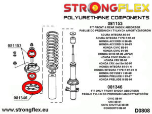 081153A: Shock absorber mounting SPORT