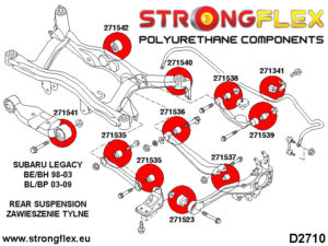 276159B: Full rear suspension bush kit