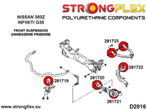 286199A: Full suspension bush kit SPORT
