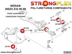 286218B: Full suspension bush kit