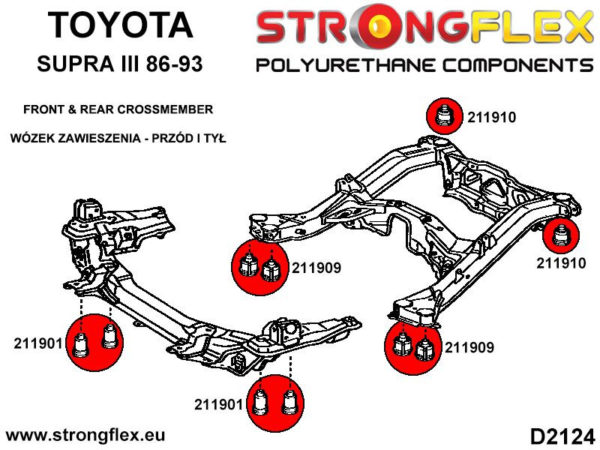211909B: Rear subframe - front bush